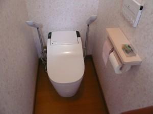 トイレ2完成