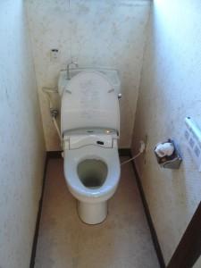 トイレ1リフォーム前