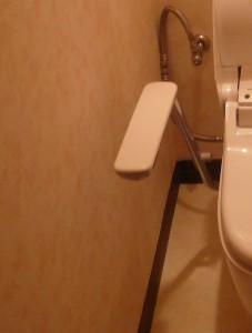 トイレ1完成壁床