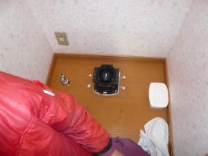 トイレ2設置作業3
