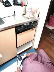 ビルドイン食洗機をはずします